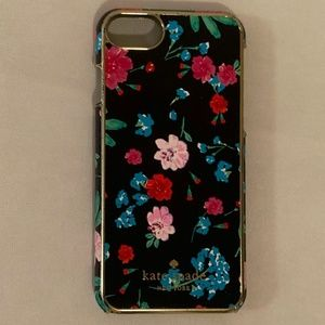 kate spade Hummingbird Jeweled Jardin iPhone Case